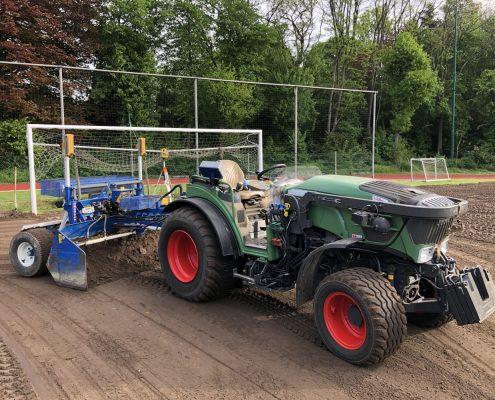 grondwerken lauwers nivelleren tuinaanleg